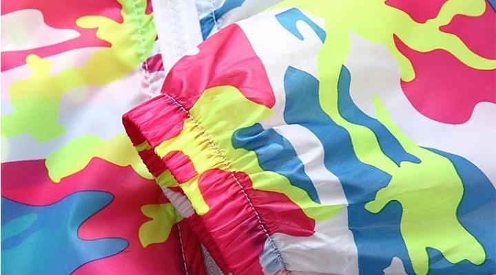 Ветровка с печатью. Печать на курточной ткани.