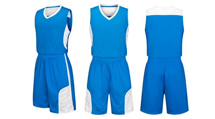 Баскетбольная форма на заказ. Печать на ткани прима или ложная сетка.