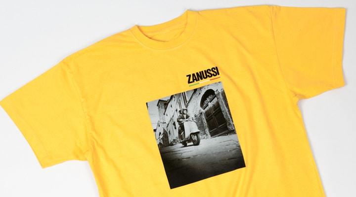 Футболка для Zanussi. Прямая цифровая печать.
