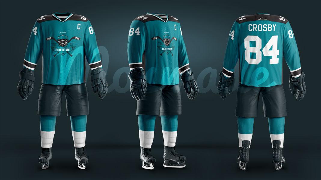 Хоккейный свитер. H-01