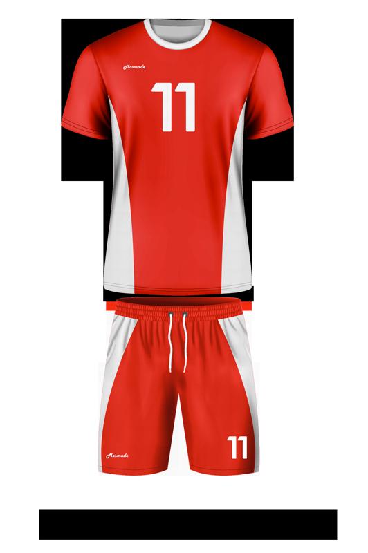 комплект футбольной формы. Дизайн А-01