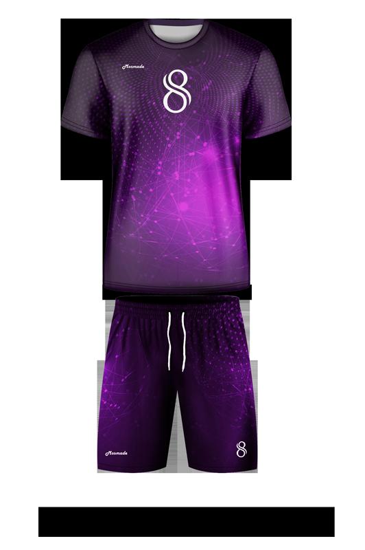 комплект футбольной формы. Дизайн А-03