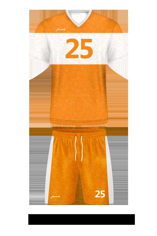 комплект футбольной формы. Дизайн B-06